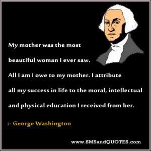 George washington essay about his life